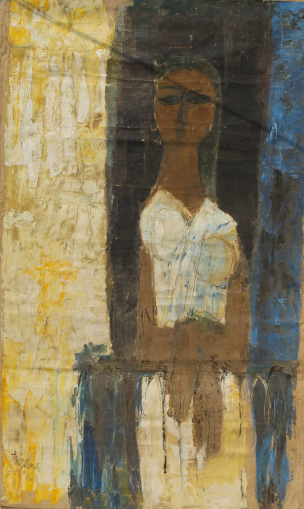 <em><strong>Untitled 14</strong></em>. Oil on canvas, 32.5 x 56.5 inches