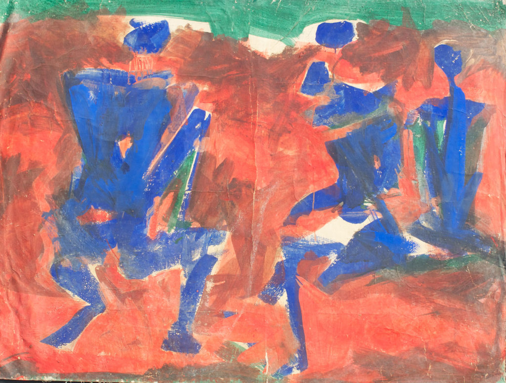 <em><strong>Untitled 20</strong></em>. Watercolour on paper, 37 x 28 inches
