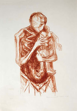 <em><strong>Untitled</strong></em>. Lithograph, 28 x 41.5 cm, 1978