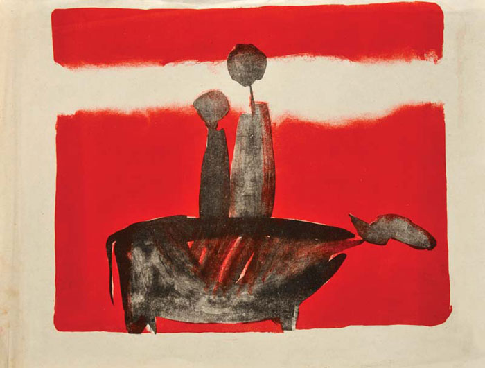 <em><strong>Untitled</strong></em>. Lithograph, 38 x 31 cm, 1969