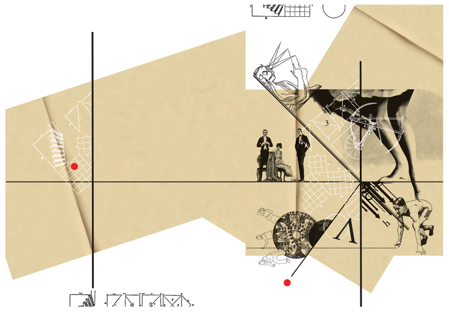 <em><strong>Planes of Composition</strong></em>. Digital print on archival paper, 29 inches x 16.5 inches, 2011 Edition of 7