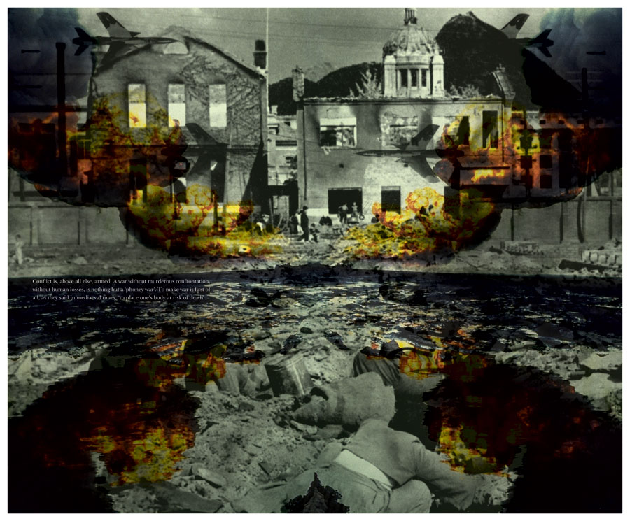 <em><strong>States of Violence 2</strong></em>. Digital print on archival paper, 29 inches x 24 inches, 2011 Edition of 7