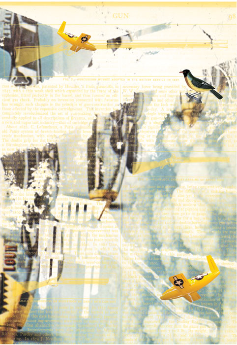 <em><strong>When the Birds begin to Sing</strong></em>. Digital print on archival paper, 11.85 x 14.5 inches Edition of 7, 2010