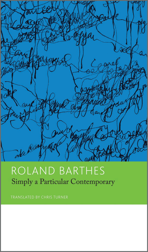 roland barthes critical essays Get this from a library critical essays on roland barthes [diana knight.
